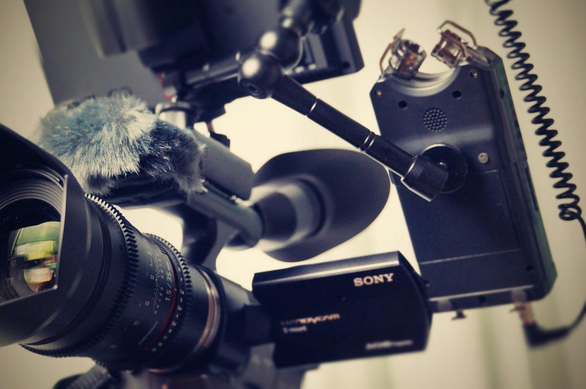 撮影用のカメラ機材一式