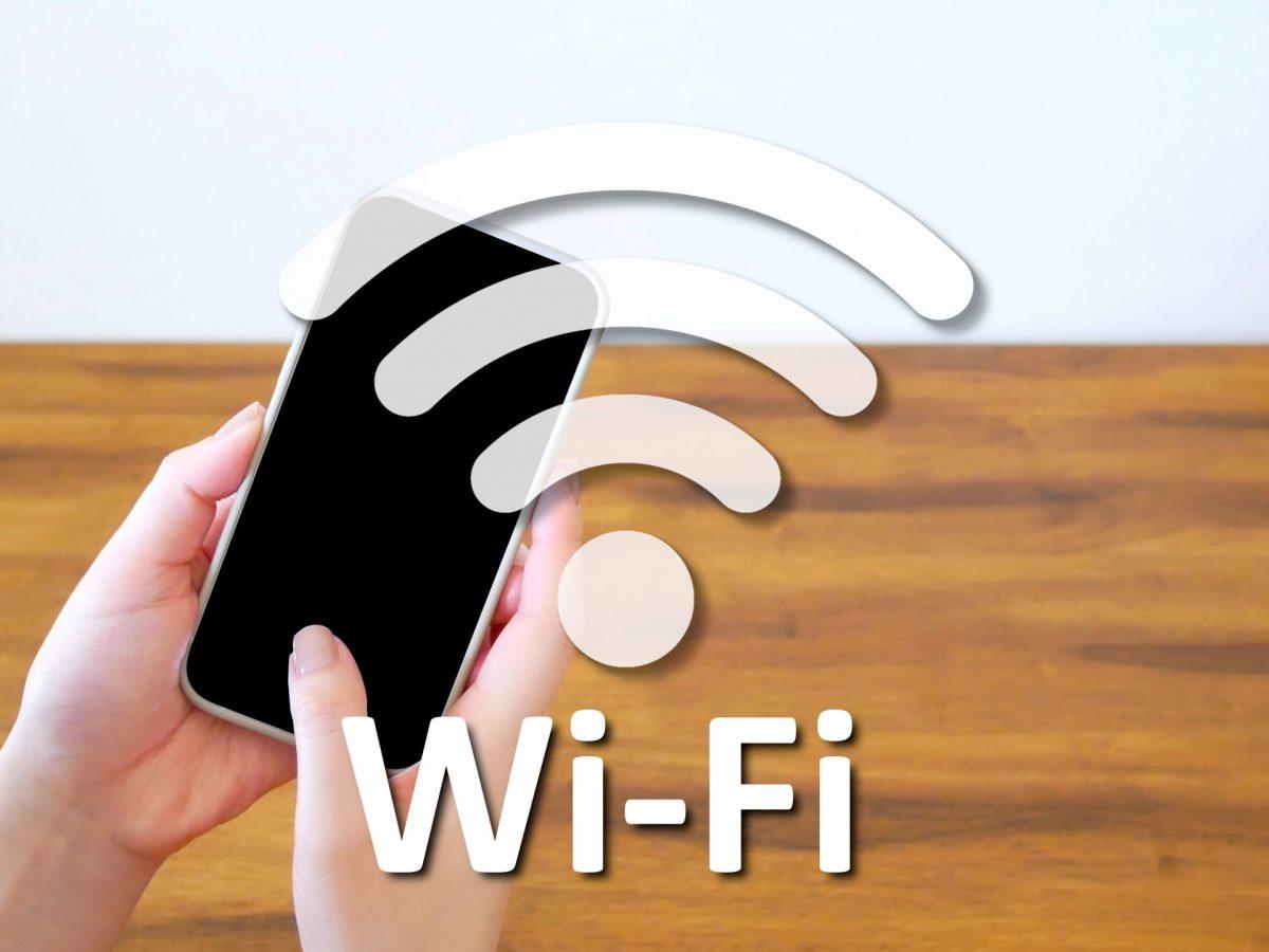 スマホをWi-Fi接続し利用するイメージ