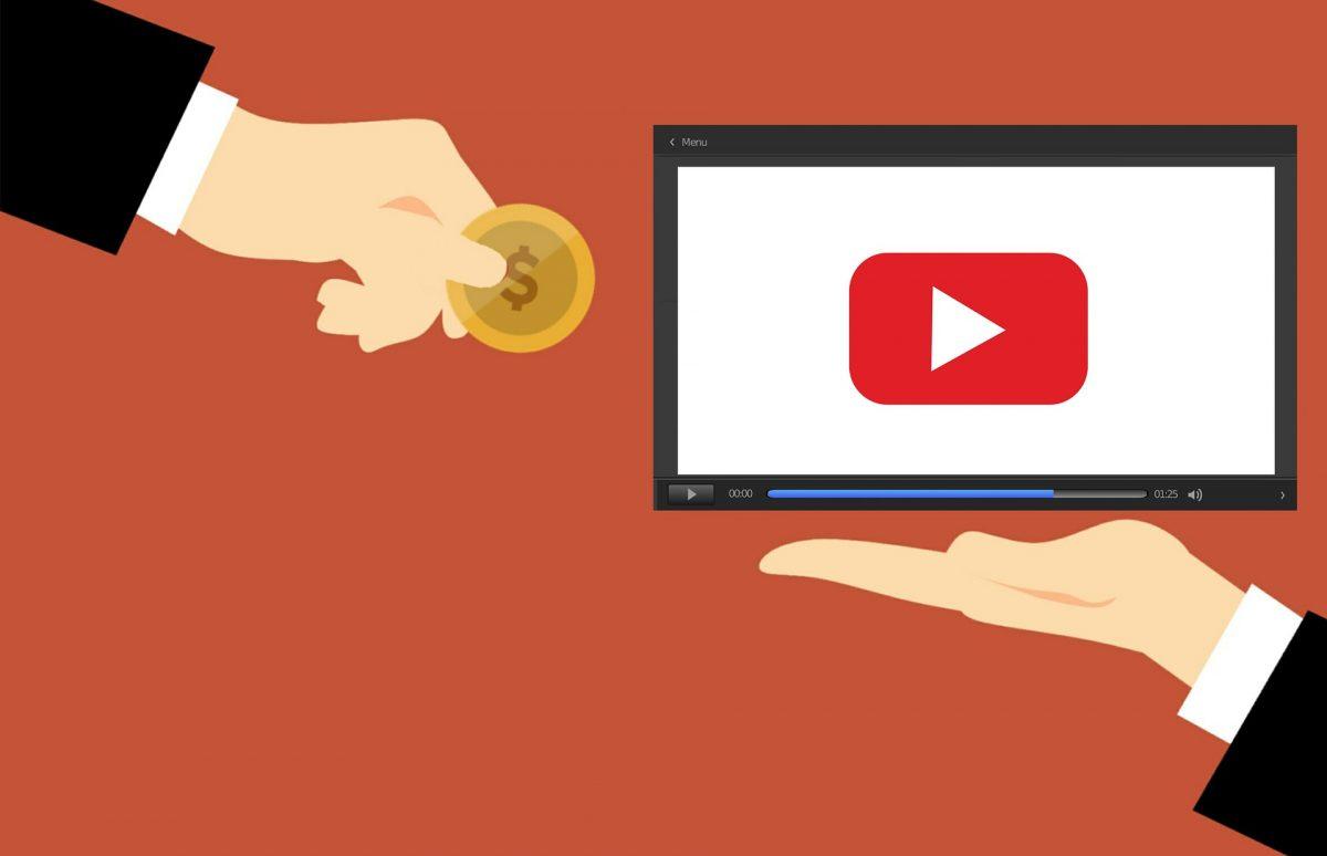 動画配信と収入のイメージイラスト